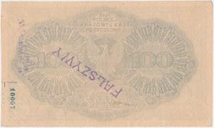 Falsyfikat z epoki 100 mkp 02.1919