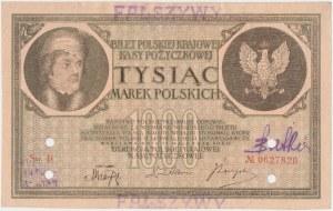 Falsyfikat z epoki 1.000 mkp 05.1919 - Ser.B