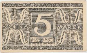 Oflag II C Woldenberg, Bon na 5 marek 1944 - Seria AI