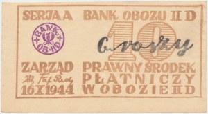Oflag II D Gross-Born, Bon na 10 groszy 1944