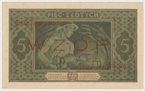 WZÓR 5 złotych 1926 - Ser.A