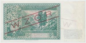 Londyn 50 złotych 1939 - WZÓR - A 012345
