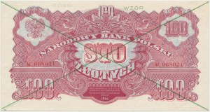WZÓR 100 złotych 1944 ...owym - AC