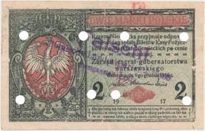 Falsyfikat z epoki 2 mkp 1916 jenerał