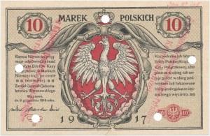 Falsyfikat z epoki 10 mkp 1916 ...Biletów