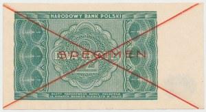 SPECIMEN 2 złote 1946