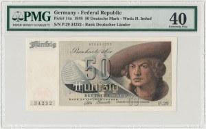 Niemcy, 50 mark 1948 - PMG 40