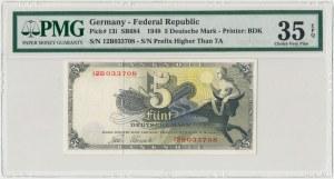 Niemcy, 5 mark 1948 - PMG 35 EPQ