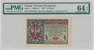 Jenerał 1/2 mkp 1916 - A - PMG 64 EPQ