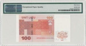 Łotwa, 100 latu 2007 - PMG 67 EPQ