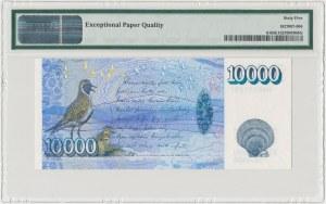 Islandia, 10.000 kronur 2001 - PMG 65 EPQ