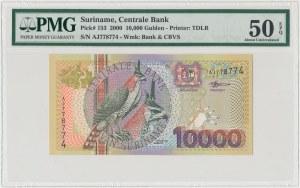 Surinam, 10.000 gulden 2000 - PMG 50 EPQ