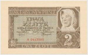 2 złote 1940 - A