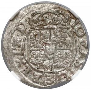 Jan II Kazimierz, Półtorak Poznań 1661 - NGC MS61