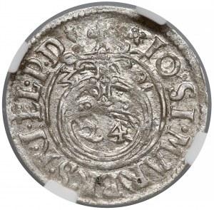 Prusy, Jan Zygmunt, Półtorak Królewiec 1620 - NGC MS60