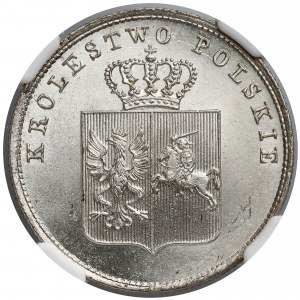 Powstanie Listopadowe, 2 złote 1831 KG - NGC MS66
