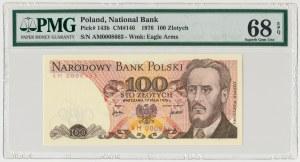 100 złotych 1976 - AM - PMG 68 EPQ