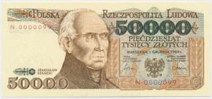 50.000 złotych 1989 - N 0000099