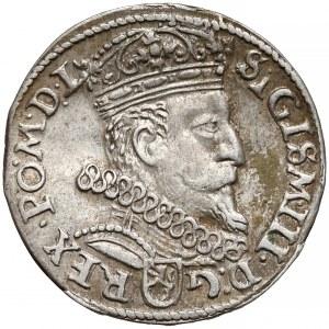 Zygmunt III Waza, Trojak Kraków 1605 - piątka bez beli