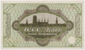 Gdańsk 1.000 marek 1922