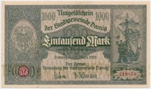 Gdańsk 1.000 marek 1923