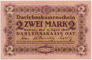 Kowno 2 marki 1918