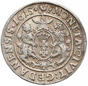 Zygmunt III Waza, Ort Gdańsk 1615 - tarcza owalna - MON•ETA