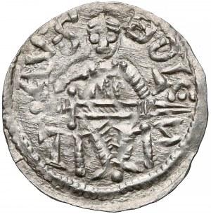 Bolesław IV Kędzierzawy, Denar - Relikwiarz - napis zgodnie