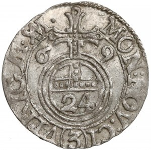 Karol XI, Półtorak Ryga 1669