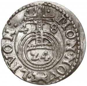 Krystyna, Półtorak Ryga 1648