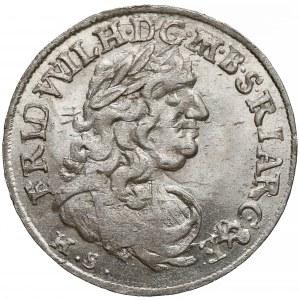 Niemcy, Prusy, Fryderyk Wilhelm, Szóstak Królewiec 1684 HS