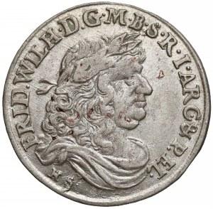 Niemcy, Prusy, Fryderyk Wilhelm, Szóstak Królewiec 1679 HS - rzadszy