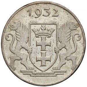 Wolne Miasto Gdańsk, 2 guldeny 1932 Koga - rzadkie