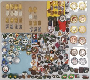 Kolekcja (turystyka) PTTK, LOK, GOT i inne