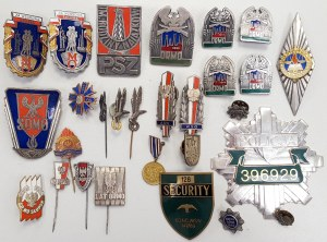Kolekcja: Milicja, ORMO, Policja, WP, Szkoły policyjne itp.