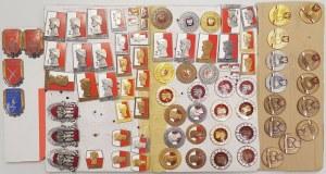LWP Kolekcja odznak Tytułów honorowych WZOROWY (80szt)