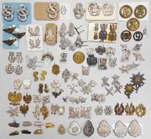 Emblematy różne - duży zestaw
