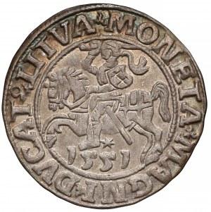 Zygmunt II August, Półgrosz Wilno 1551