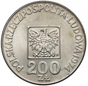 Destrukt 200 złotych 1974 XXX lat PRL - ODWROTKA