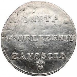 Oblężenie Zamościa 2 złote 1813