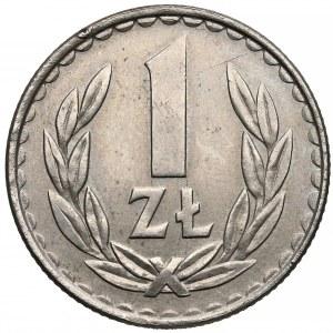 Odbitka w MIEDZIONIKLU 1 złoty 1987