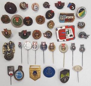 Motoryzacja i Automobilizm - zestaw odznak i przypinek