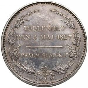 Niemcy, Saksonia, Fryderyk August I, Talar pośmiertny 1827 - BERGBAUS