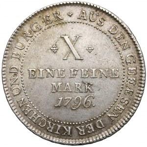 Niemcy, Frankfurt, Talar 1796 - kontrybucyjny