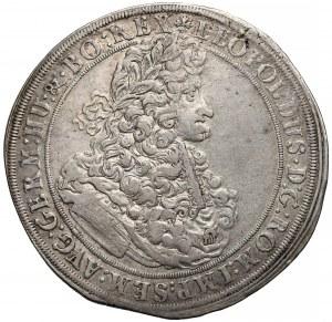 Śląsk, Leopold I, Talar Wrocław 1695 MMW