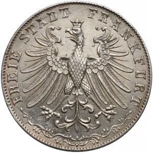 Niemcy, Frankfurt, Podwójny gulden 1847
