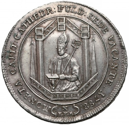 Niemcy, Fulda (biskupstwo), Talar 1788 - rzadki