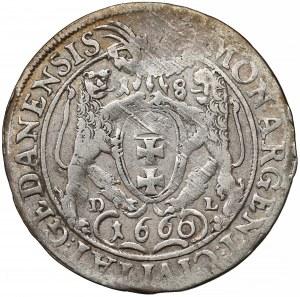 Jan II Kazimierz, Ort Gdańsk 1660 DL - SUEC
