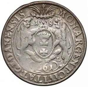 Jan II Kazimierz, Ort Gdańsk 1661 DL