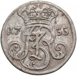 August III Sas, Trojak Gdańsk 1755